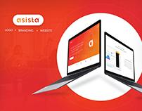 Branding, Website, Logo - Asista