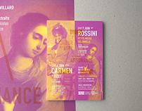 Carmen & Rossini - Poster Design