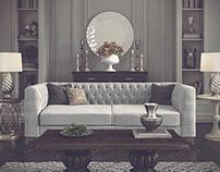 Sofa Florida by Saloni