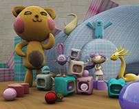 3D Toys