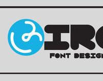 Circles: A TrueType Font