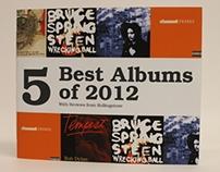 5 Best Albums of 2012