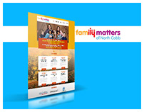 Family Matters Web Design