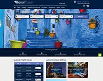 Royal Travel Website