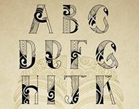 Maori Tattoo font