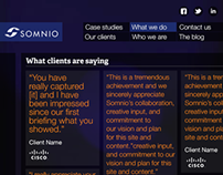 Somnio Website Redesign