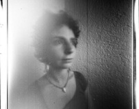 Pinhole Self Portrait 4x5