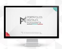 Presentación y Logo Portafolios Digitales Fotografía