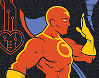 DC Superhero Profiles: Red Tornado