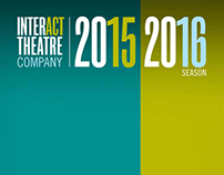 InterAct Theatre Company 2015/2016 Season Brochure