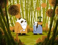 Panda's secret garden