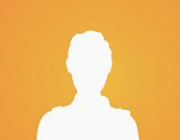 User Profile Avatar Silhouettes