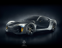 Illusion Luxury Sports Car | Design, Modelling, CGI