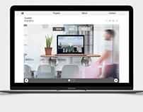 Minimal Website for Design Agency