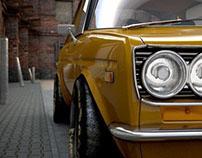 Datsun 510 - WIP - Modo & 3dsMax
