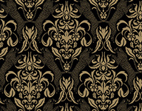 Baroque - a seamless pattern