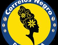 [Logo] Grupo Correios Negro