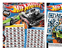 Hot Wheels Annual Poster 2012