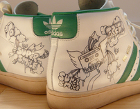 adidas superstar customized