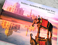 "Coffee Table Book ""India—Always More For You"""