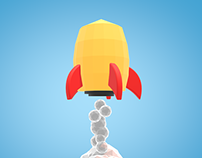 Rocket - Cinema 4D