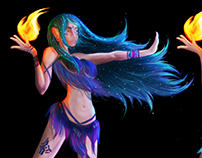Maya: modelling a character