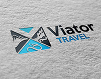 Logo Design Viator Travel
