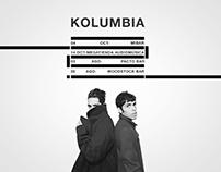 Poster Kolumbia