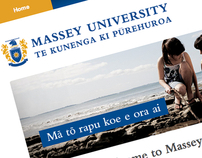 Massey University Website
