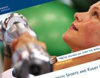 Massey University Sports and Rugby Institute Website