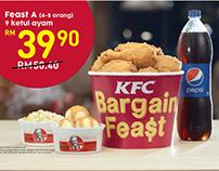 KFC Bargain Feast - TVC