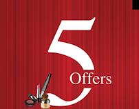 Debenhams 5 offers