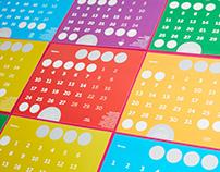 Calendar Bright adventagies