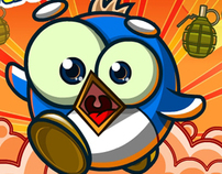 Penguin Destroyer, Flash-Game +VIDEO