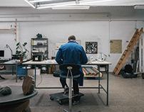 Studio Visit : Karl Troels Sandegård
