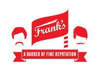 Frank's Barber Shop - Logos, Pricelist, Signage