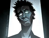 Poster de Massive Attack para Reactor105 (no oficial)