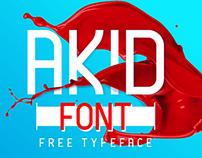 AKID - Free Font