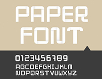 ORIGAMI PAPER FONT