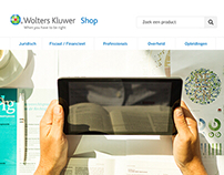Responsive product shop for Wolters Kluwer