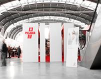 Reusable exhibition pavilion.