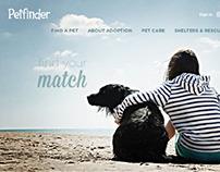 Petfinder - Site Redesign