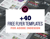 +40 Best Free Flyer Templates with InDesign