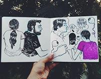 Life Drawing + character designs