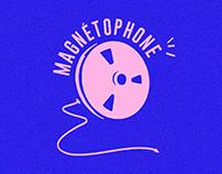 Identité Visuelle - Magnétophone
