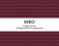 Mro Typeface Specimen