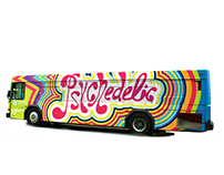 Psychedelic Bus Design