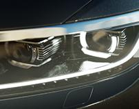 VW Passat Headlights/CGI