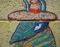 Mural: La banda saluda al Desierto
