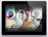 Dreamworks iPad Annual Report